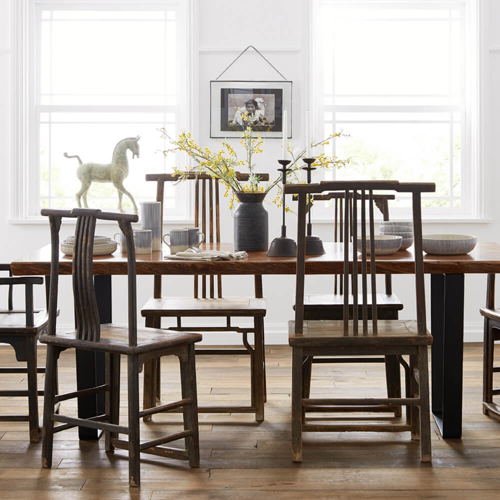 008 Dining furniture product roomset photography