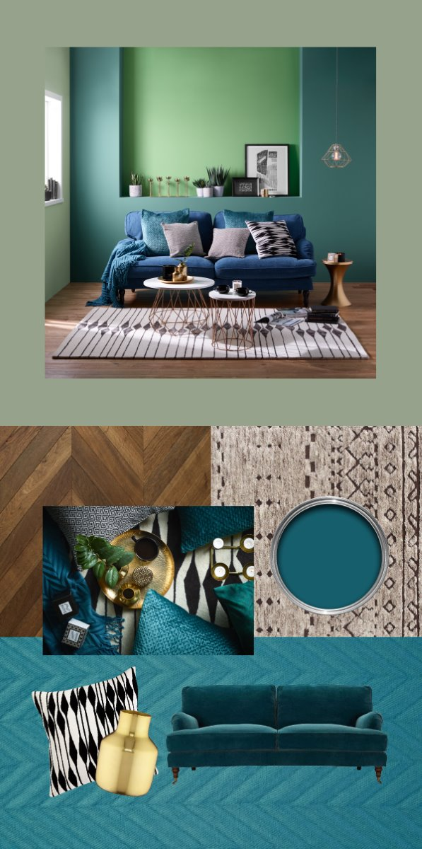 Teal Tease get the look set visions