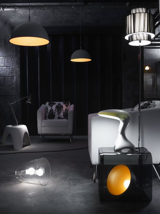 Contemporary lighting photography