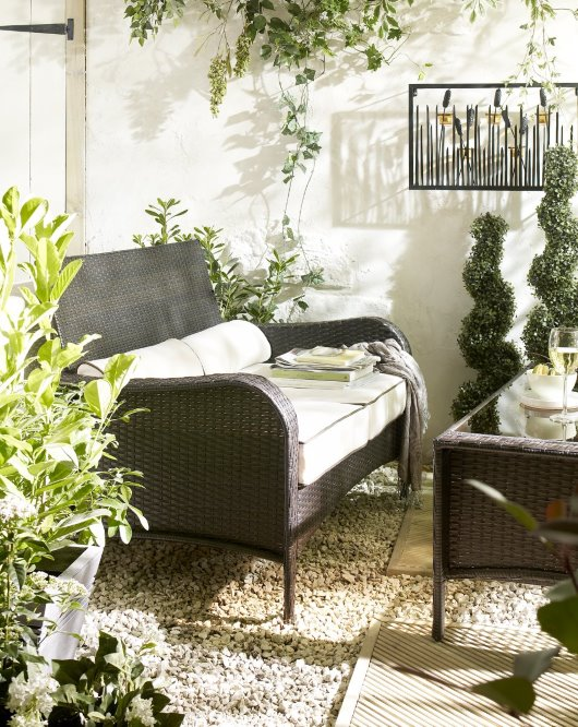 Garden Furniture roomset photography
