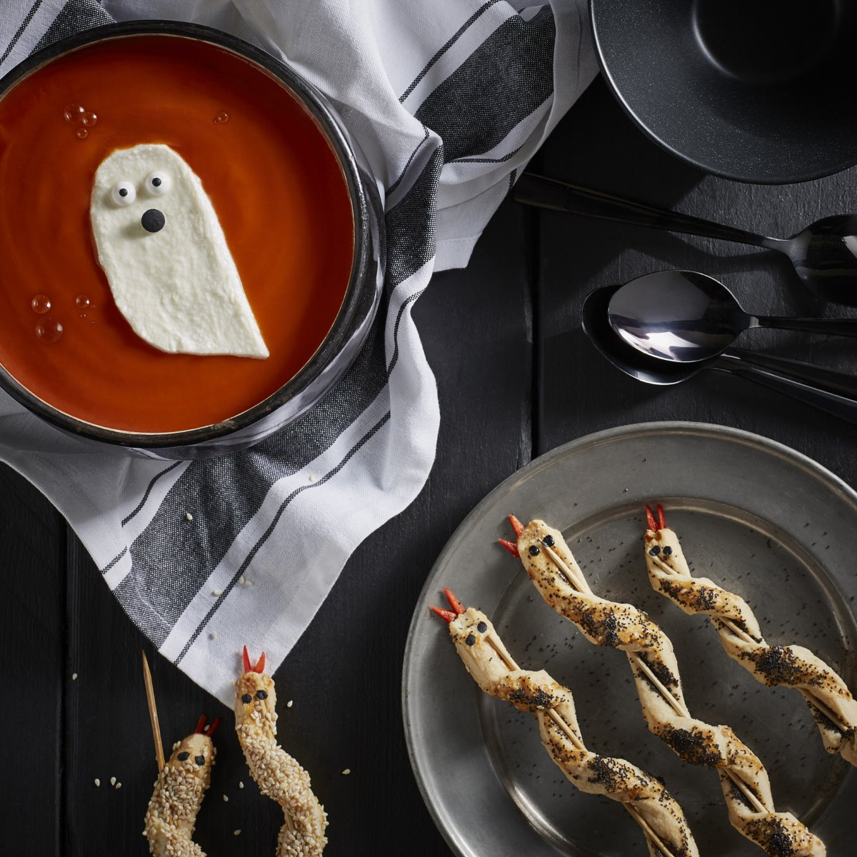 kids halloween food photography